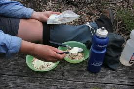 things to carry for camp-food