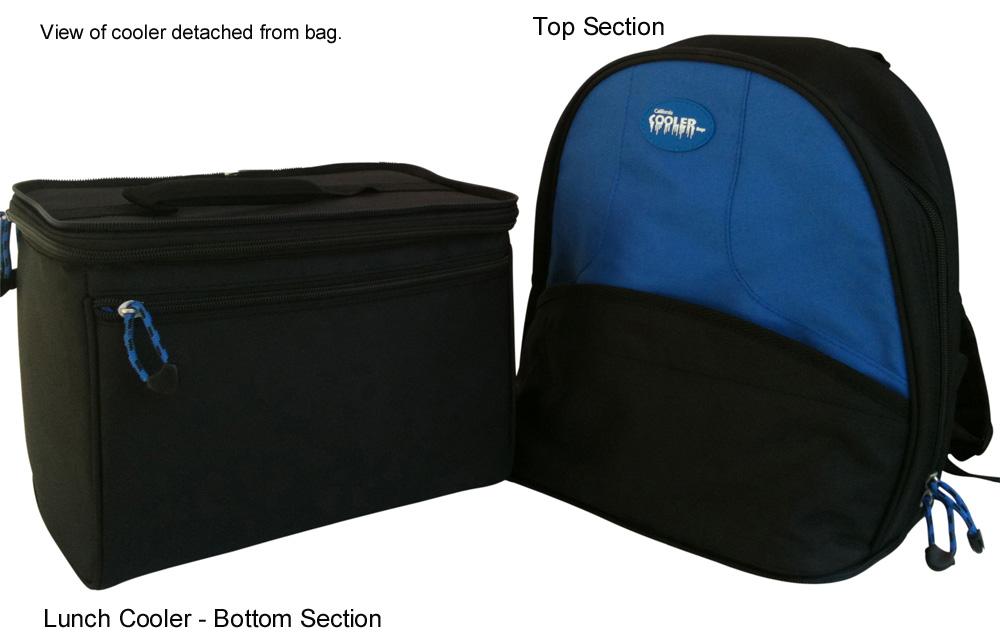 2-in-1 backpack cooler