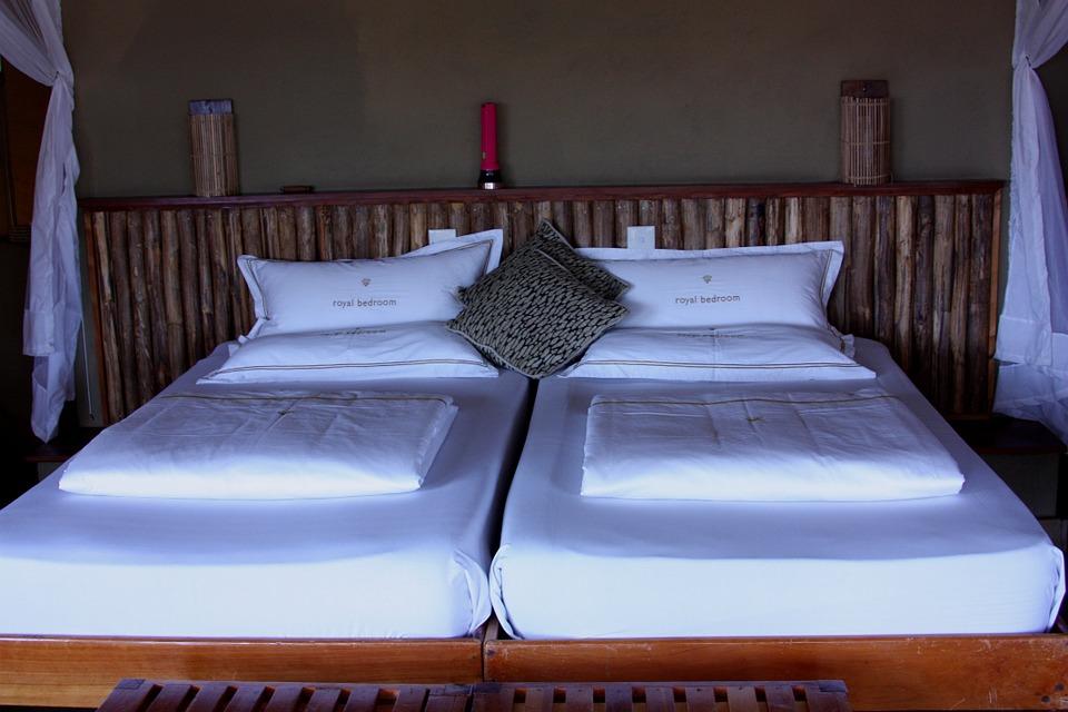 luxury camp bedding