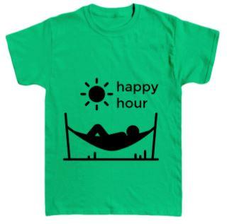 happy hour hammock t-shirt