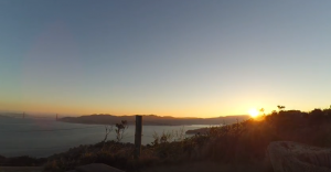 Angel Island sunset