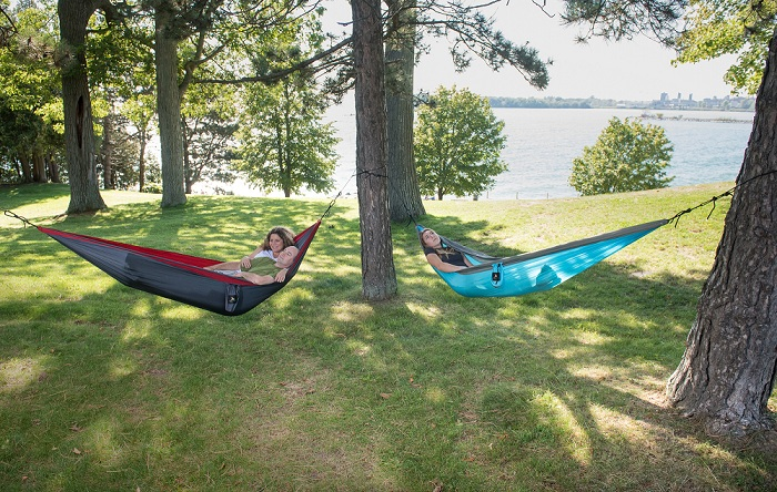 Camping hammock by NiftyCORE