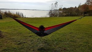 Wild Camping hammock by NiftyCORE