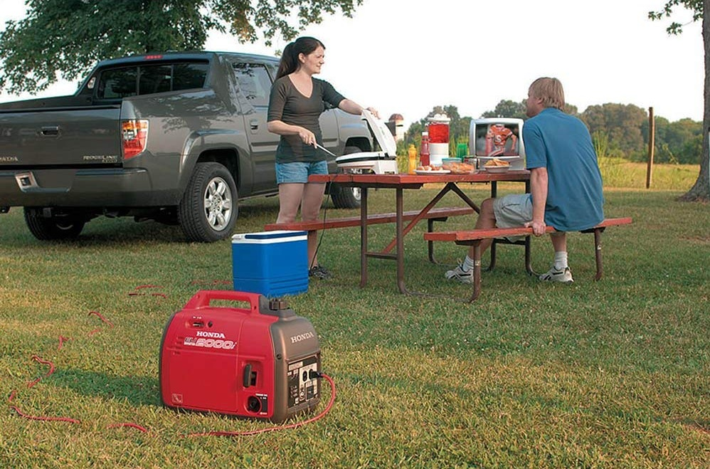 choosing the best generator for camping