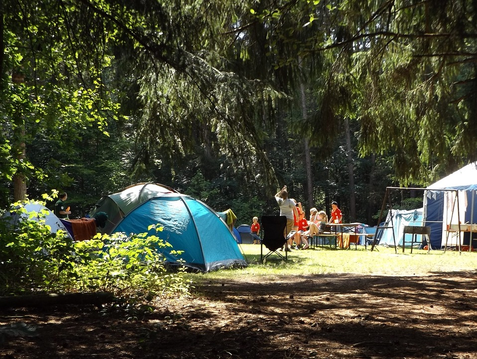 Use Campsite Amenities