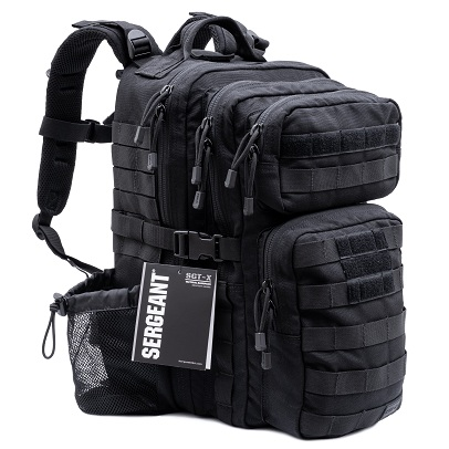 SERGEANT TACTICAL BACKPACK Built with Military-Grade Material