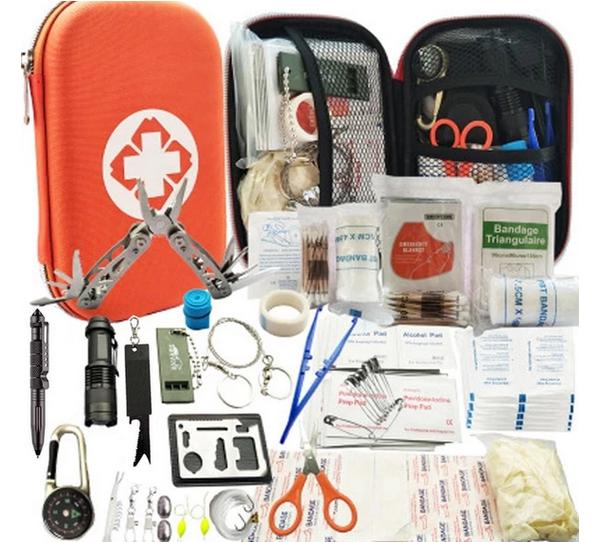 80-in-1 First Aid Kit by Wild Wonderer