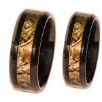 Black Band Camo ring