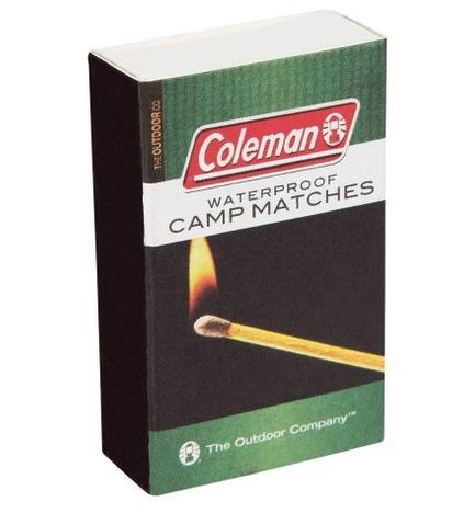 Coleman 4 Pk Waterproof Matches