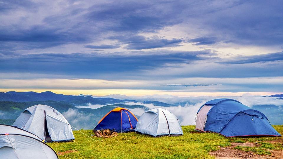 large-sized campsite
