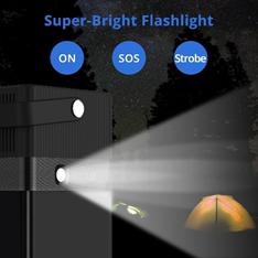 super-bright flashlight