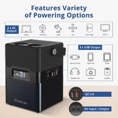 various powering options